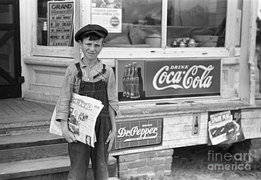Newsboy Boy